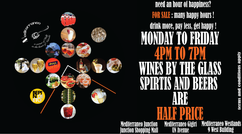 MEDITERRANEO HAPPY HOUR